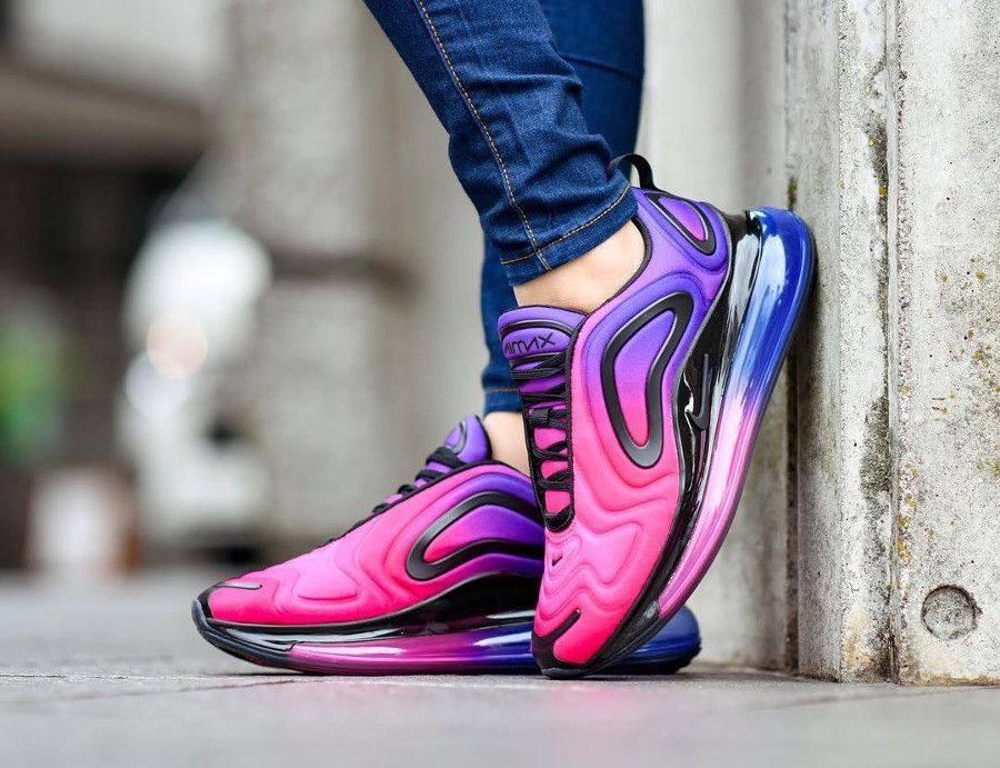 Nike Wmns Air Max 720 Sunset | Nike air max, Chaussure nike ...