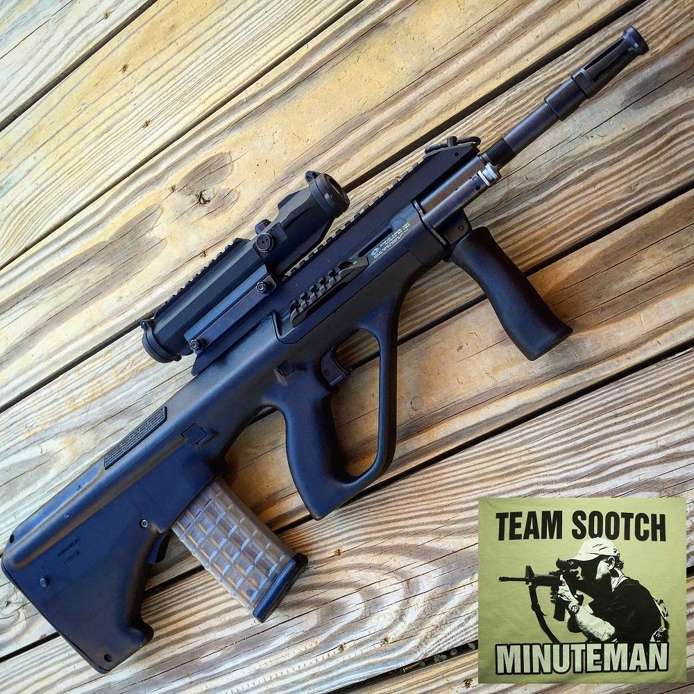 steyr aug bullpup rifle artstrada magazine pinterest. Black Bedroom Furniture Sets. Home Design Ideas