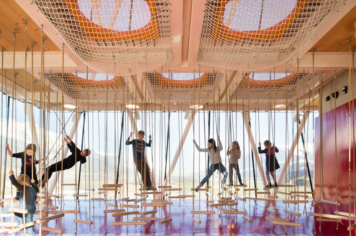 Shaping Interaction Ausstellung Zu Snohetta In Munchen 놀이터 전시관