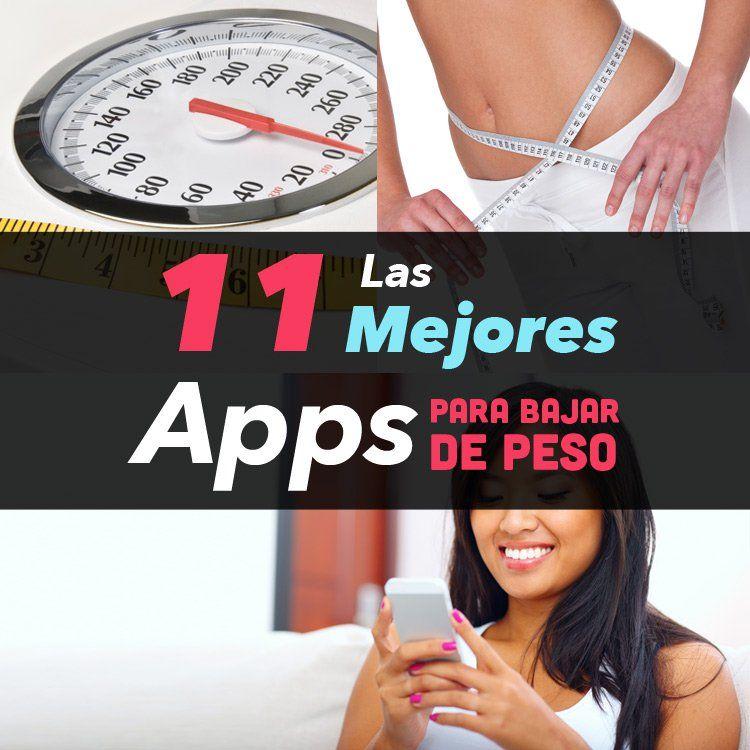 Mejores app para perdida de peso
