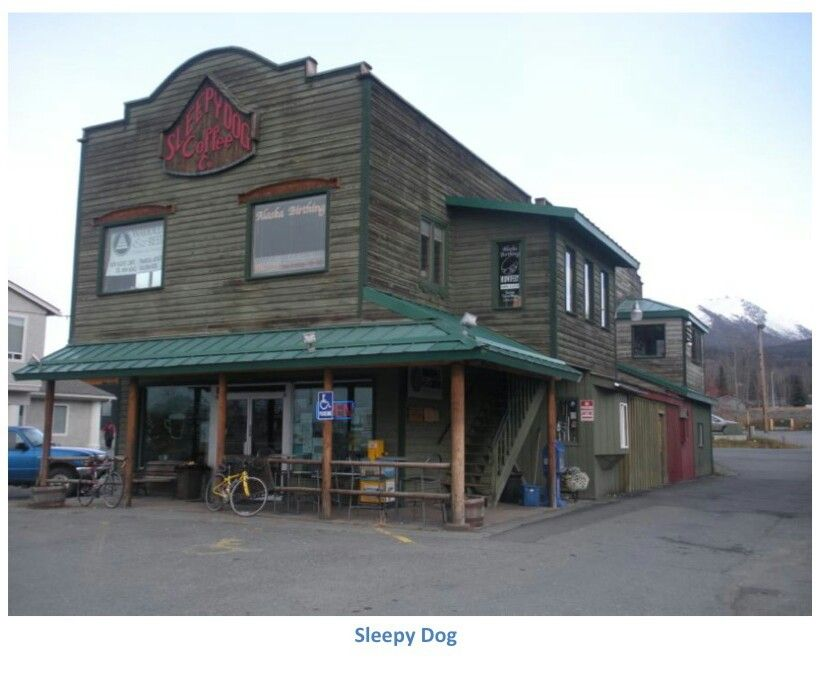 Sleepy Dog Coffee Co In Eagle River Alaska House Styles Dog