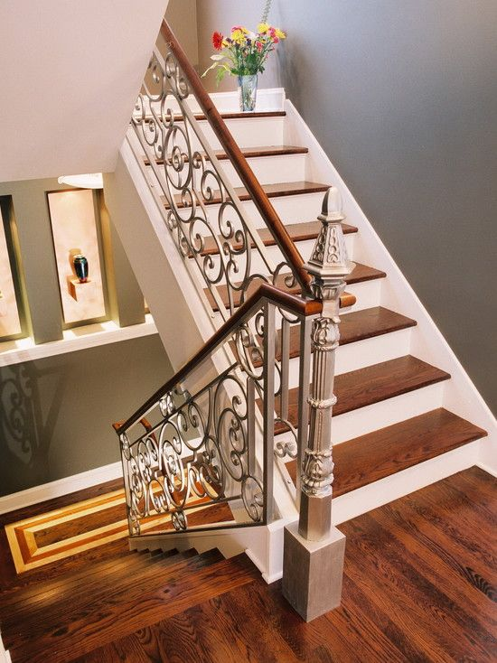 Houzz Ornate Staircase Railing