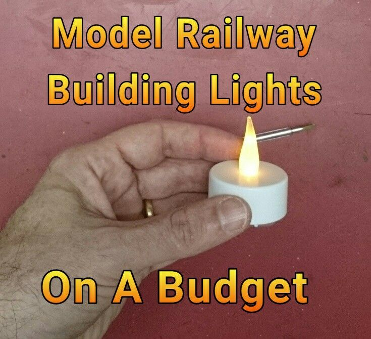 Making lights for your model railway buildings - budget tips. http://modelrailwayengineer.com/cheap-easy-lights-layout/