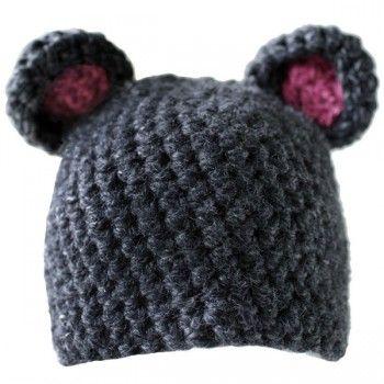 Mouse hat (similar to rat hat) | Crazy Cute | Crochet mouse