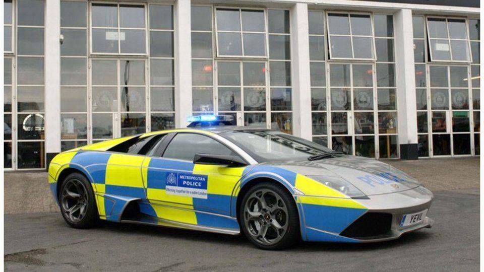 Murcielago Angleterre Police British Police Cars Vehicles