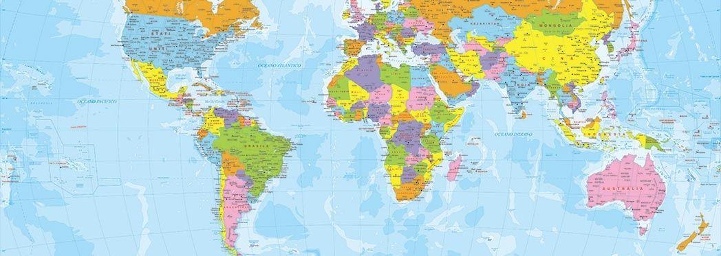 Cartina Degli Stati Del Mondo.Risultati Immagini Per Carta Politica Degli Stati Del Mondo Da Stampare In Italiano Immagini Stampe Carta
