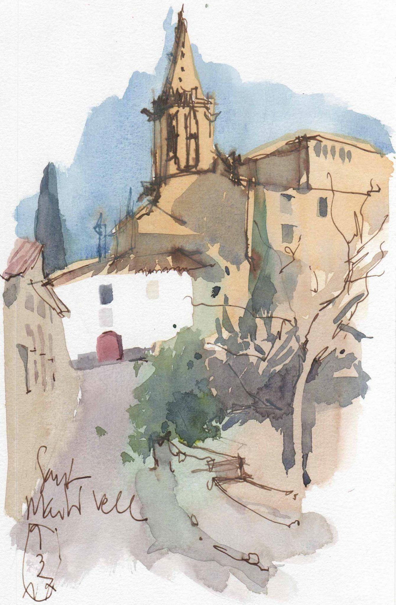 Sant Marti Nou, Girona, Spain, by Lluis Bruguera