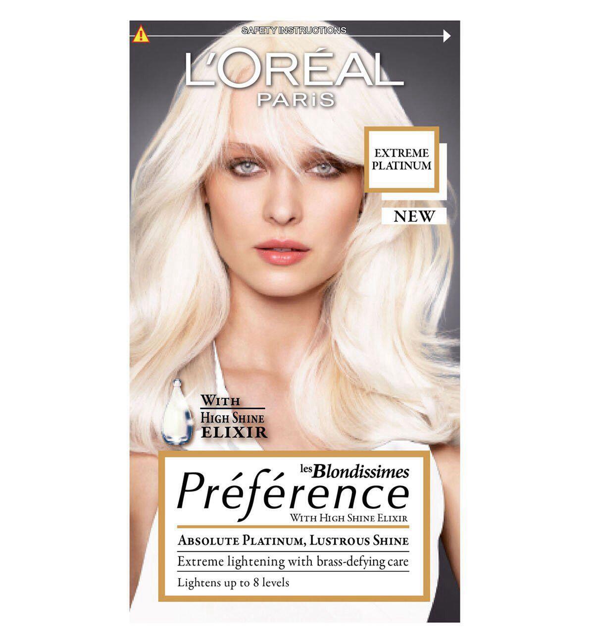 Platinum Blonde 8 Shades Lighter Hair Dye By Feria Loreal Loreal Paris Lasting Hair Color