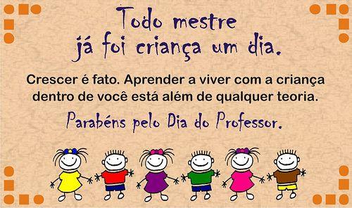 Dia Do Professor, Dia Dos Professores, 15 De Outubro