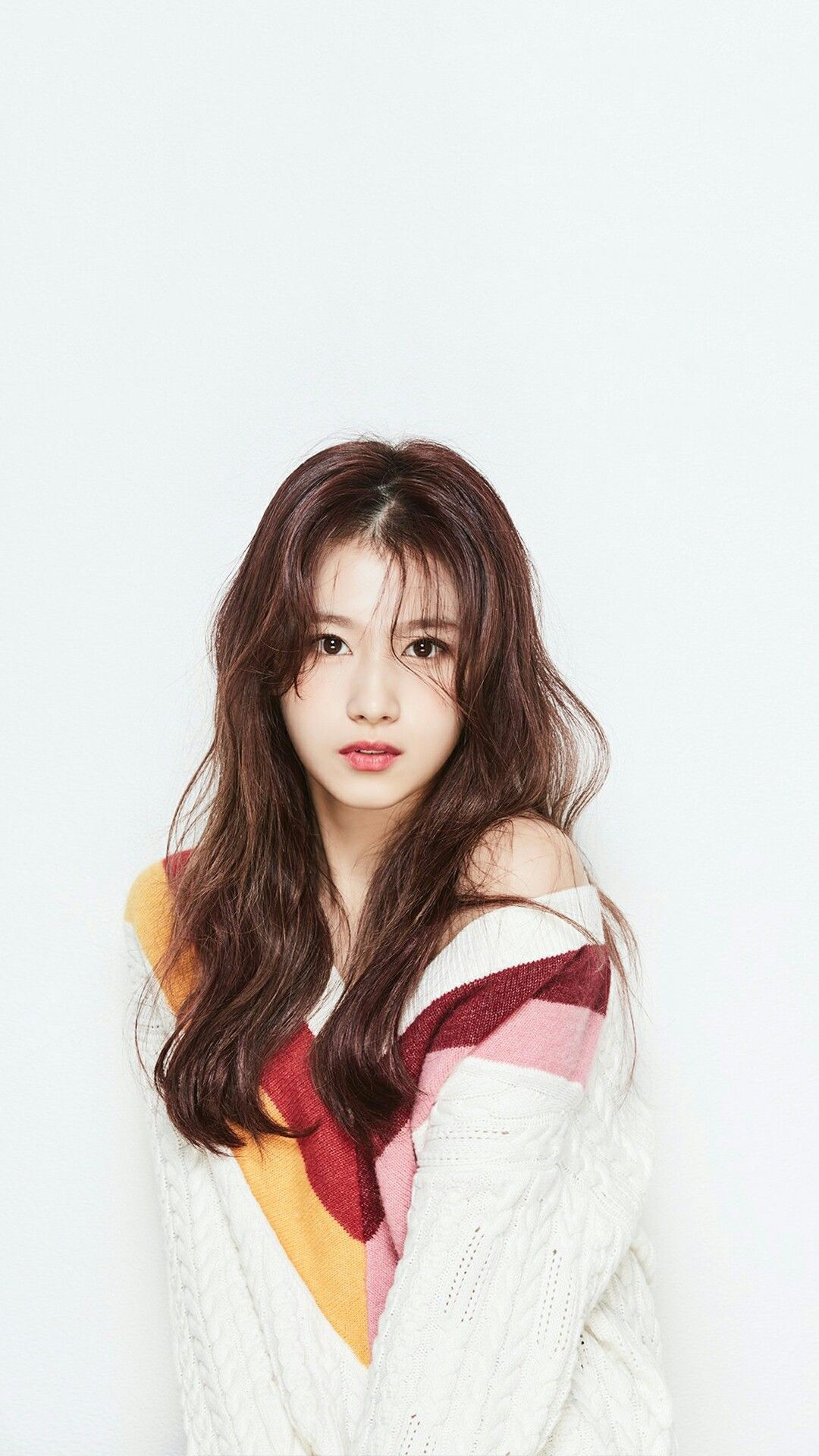 Twice X Ohboy 2018 Kpop Wallpaper Lockscreen Sana Chaeyoung