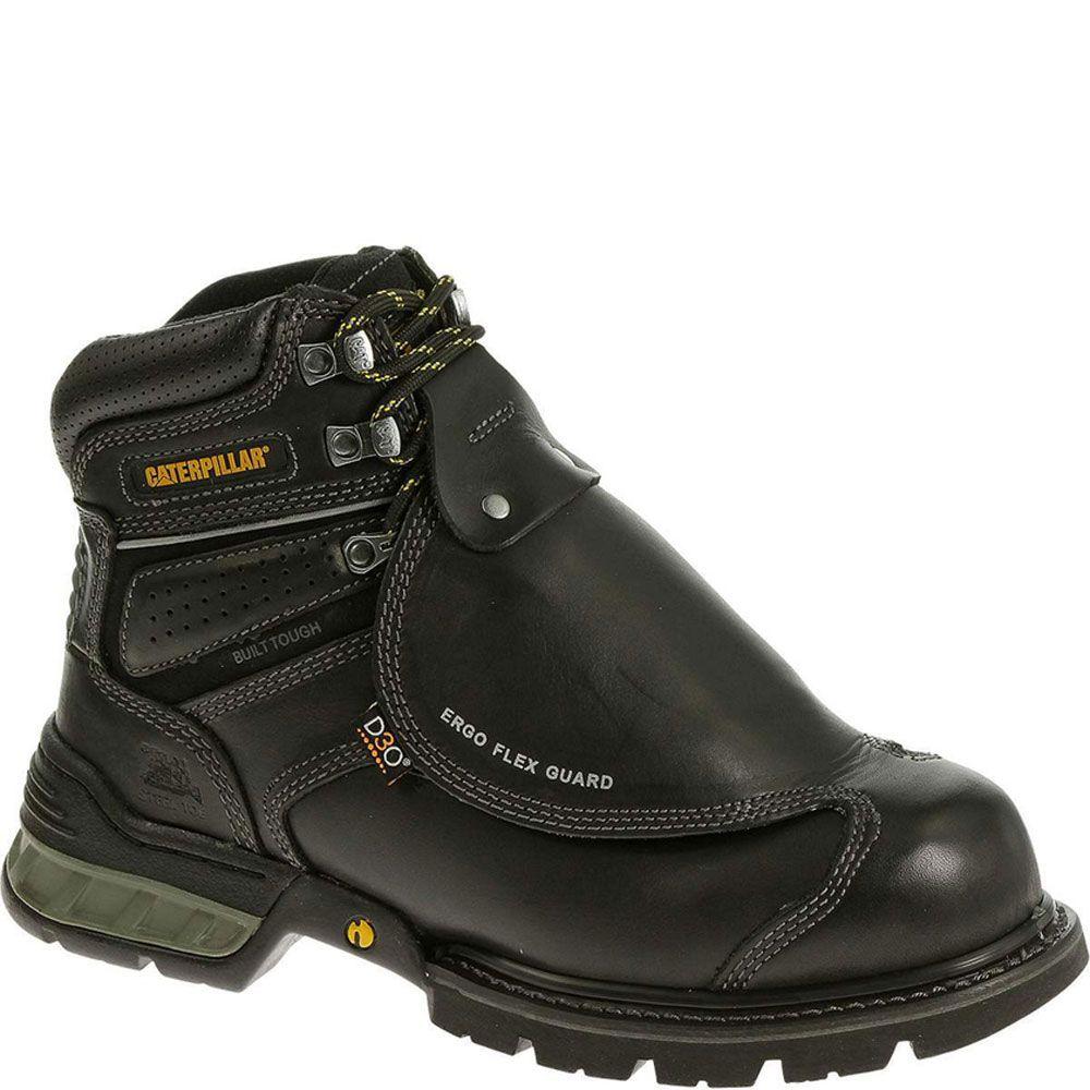 89942 Caterpillar Men's Ergo Flexguard Safety Boots - Black.