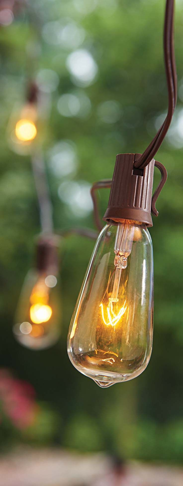 Better Homes And Gardens Glass Edison String Lights 10