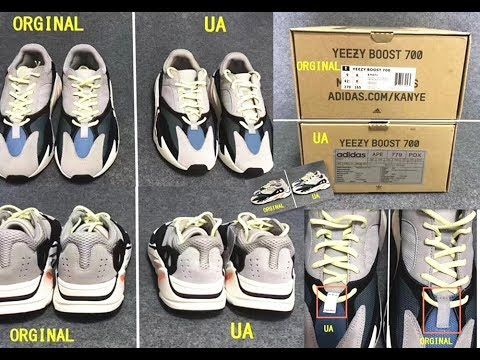 586e1e8ab47 Authentic VS Fake Adidas Yeezy 700 Wave Runner | Sneaker Deals ...