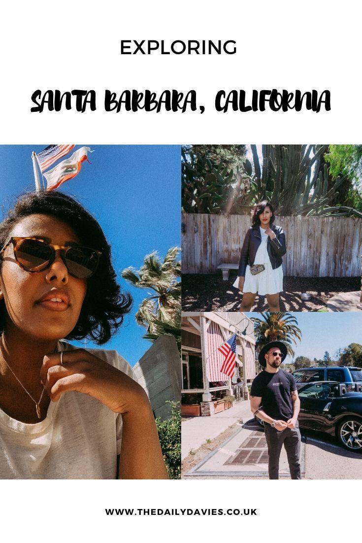 COME TO CALIFORNIA WITH US in 2020 Santa barbara