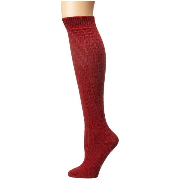 c335d532e Wigwam Lilly Knee Highs (Chili Pepper) Knee High Socks ( 23) ❤ liked