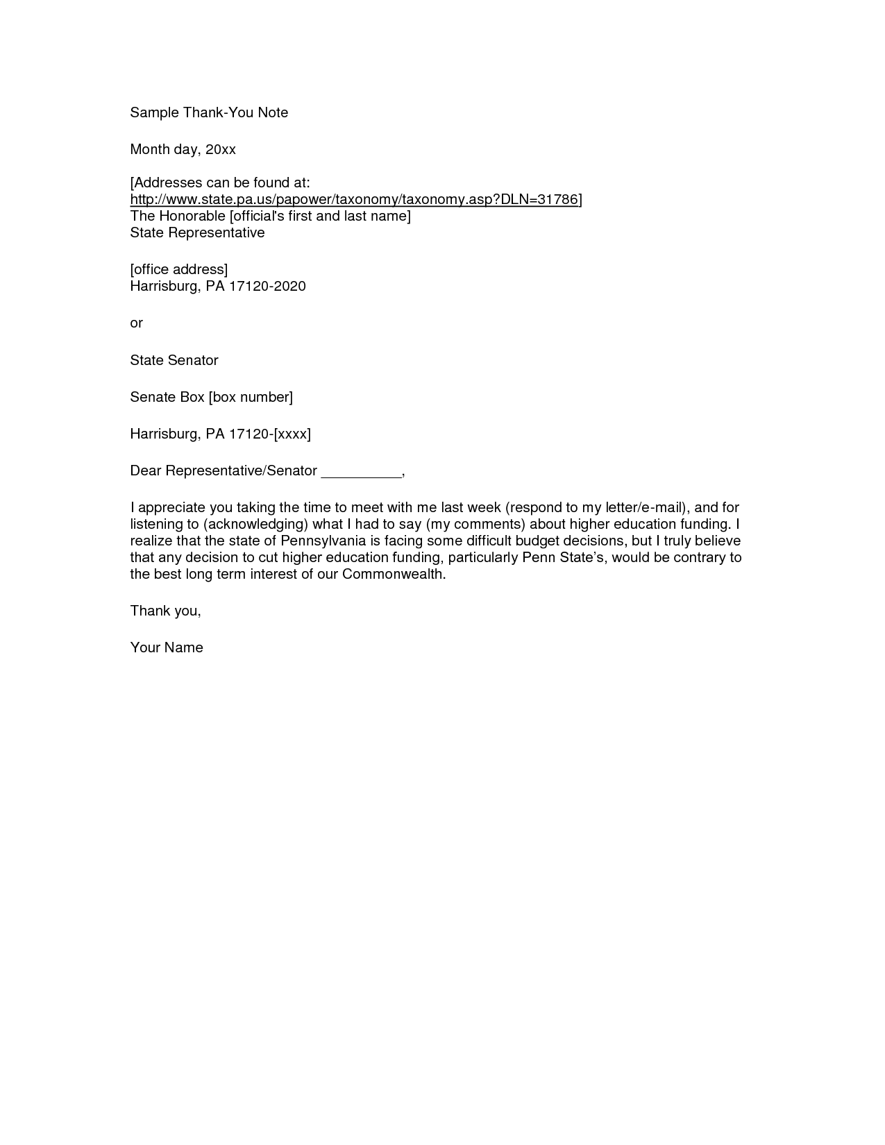Email Letter Sample Formal Business Writing Official Template Thank