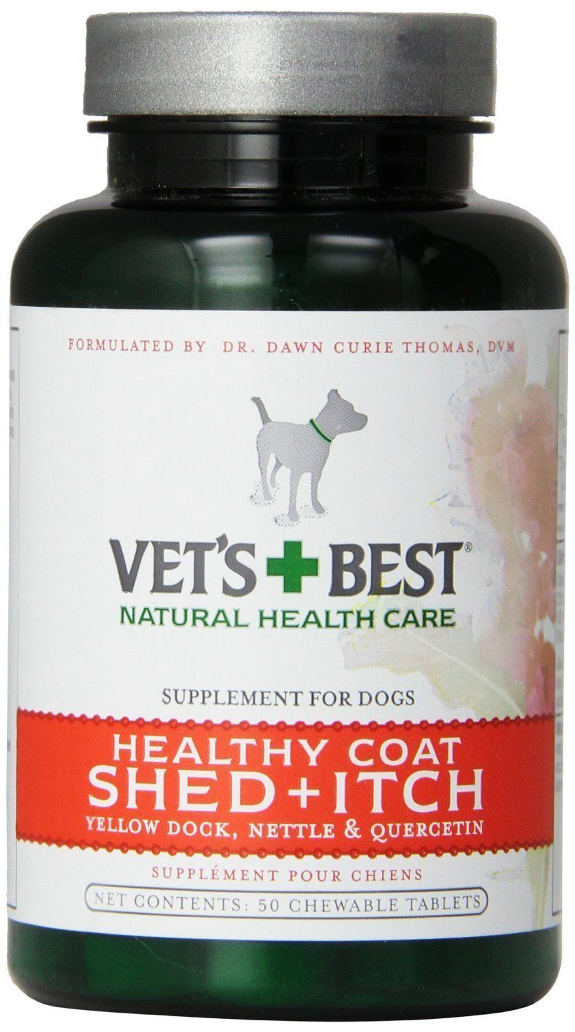 Veterinarian's Best Healthy Coat Shed and Itch Relief