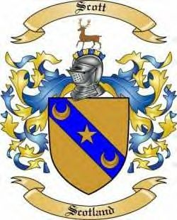 Scott coat of arms.
