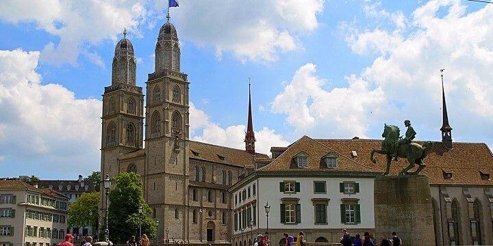 Grossmünster, Zurich, Switzerland