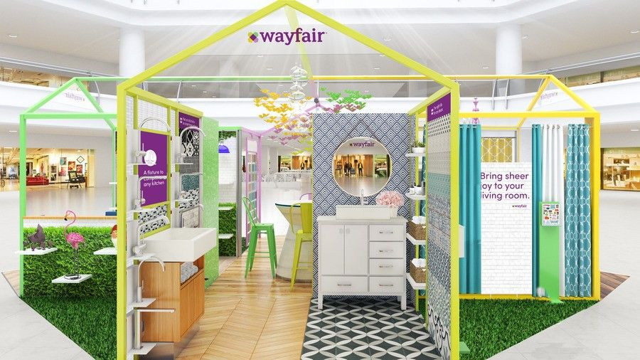 Wayfair Is Opening a PopUp Shop in Natick PopUp