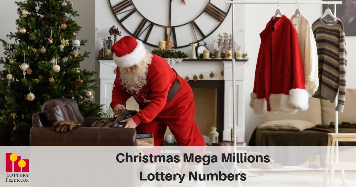 Megamillion Drawing Christmas Day 2020 This year the Mega Millions lottery draw falls on Christmas Day