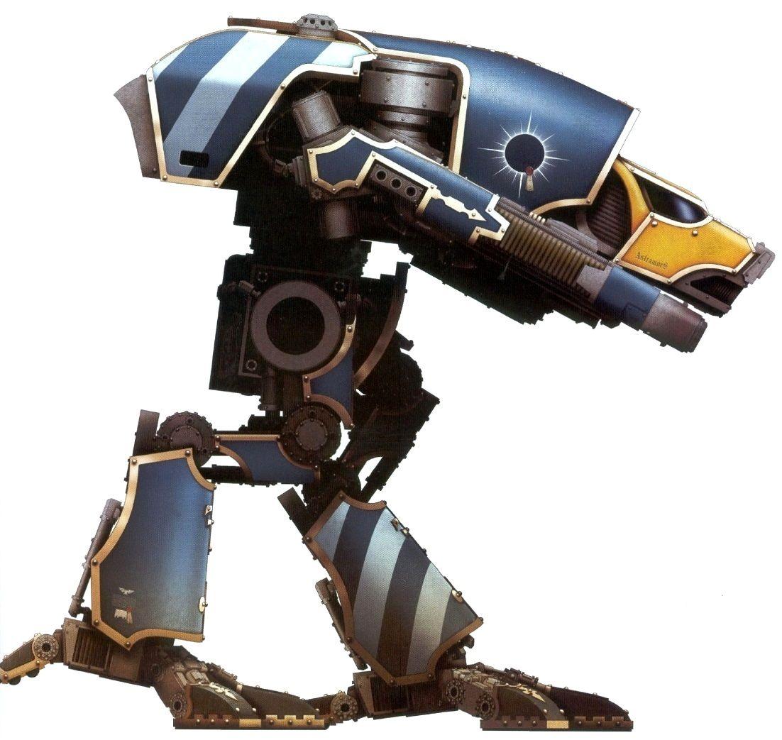 A Warhound-class Titan Of The Legio Astorum; Note The