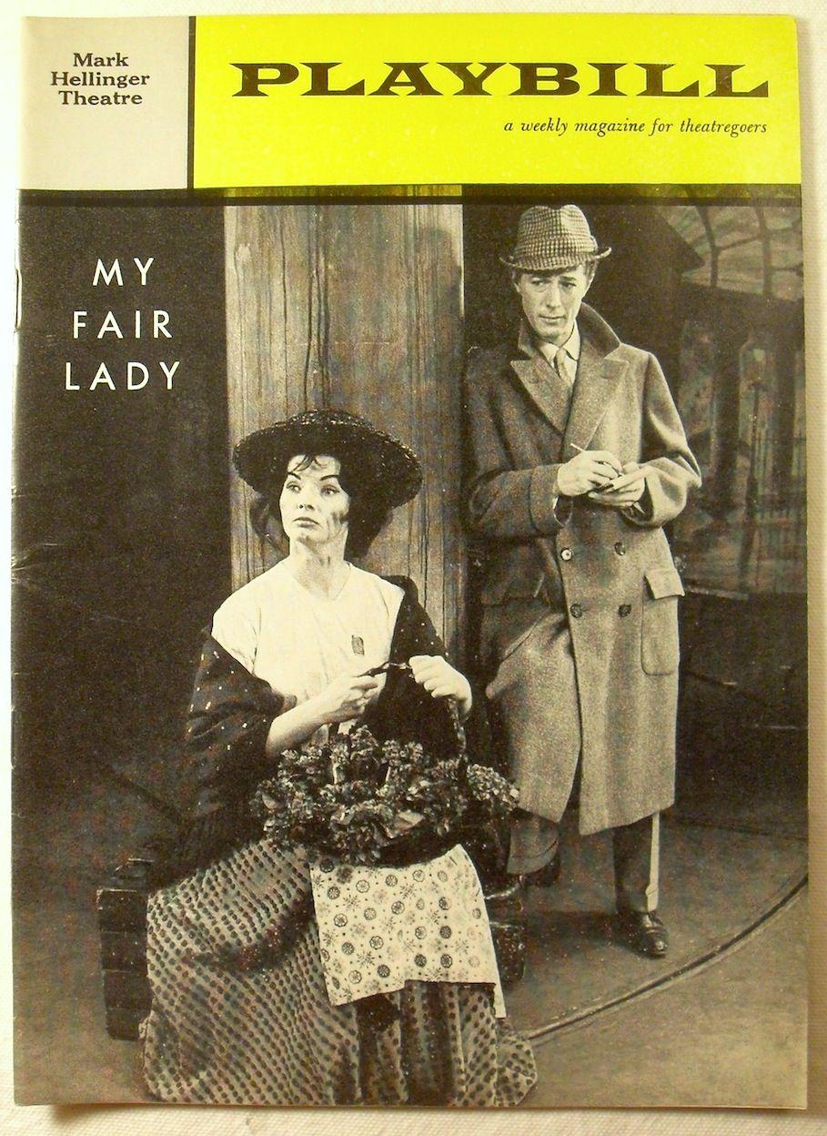 MARGOT MOSER NYC 1961 MY FAIR LADY Souvenir Program MICHAEL ALLINSON