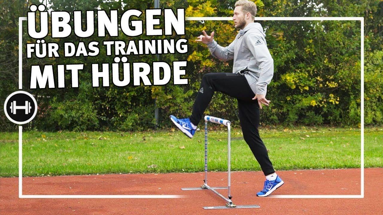 Hürdentraining für Anfänger 5 Übungen mit Hürde