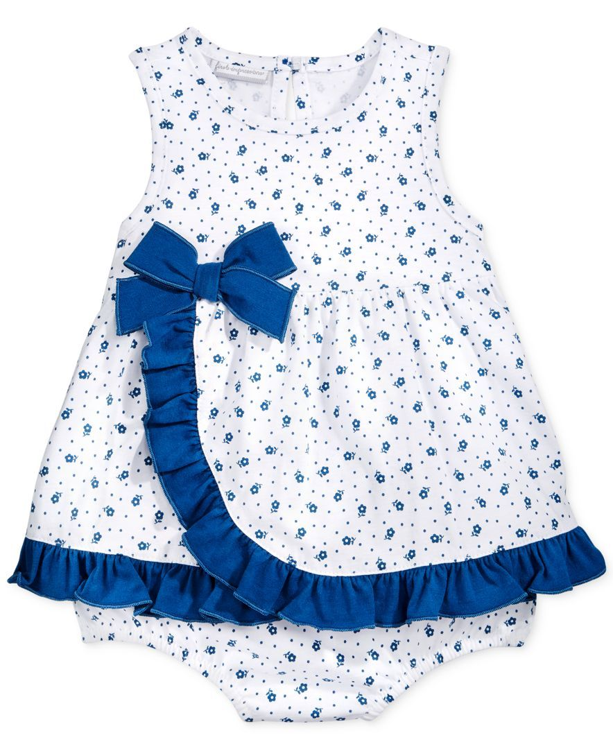 First Impressions Baby Clothes Alluring First Impressions Baby Girls' Ditsy Sunsuit  Little Lady Decorating Inspiration