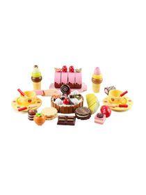 Wooden Pretend Role Play Cutting Chocolate Birthday Cake Kit Set img