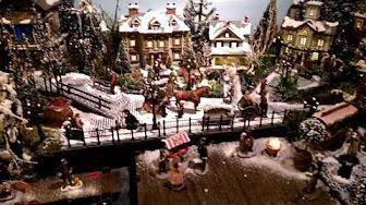 Christmas Spirit Model Train Layout Scenery - YouTube