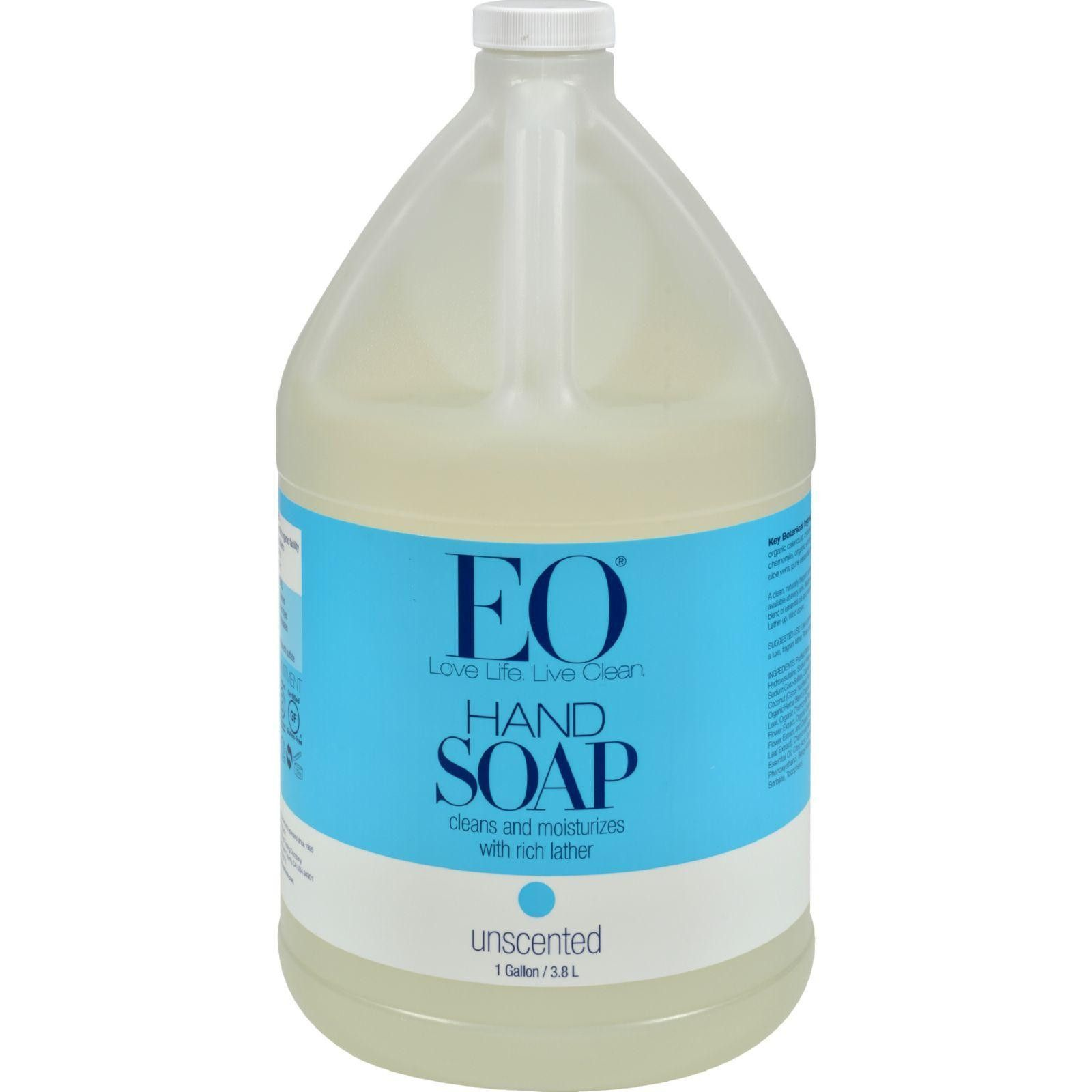 Eo Products Liquid Hand Soap Refill Unscented 128 Fl Oz Eos
