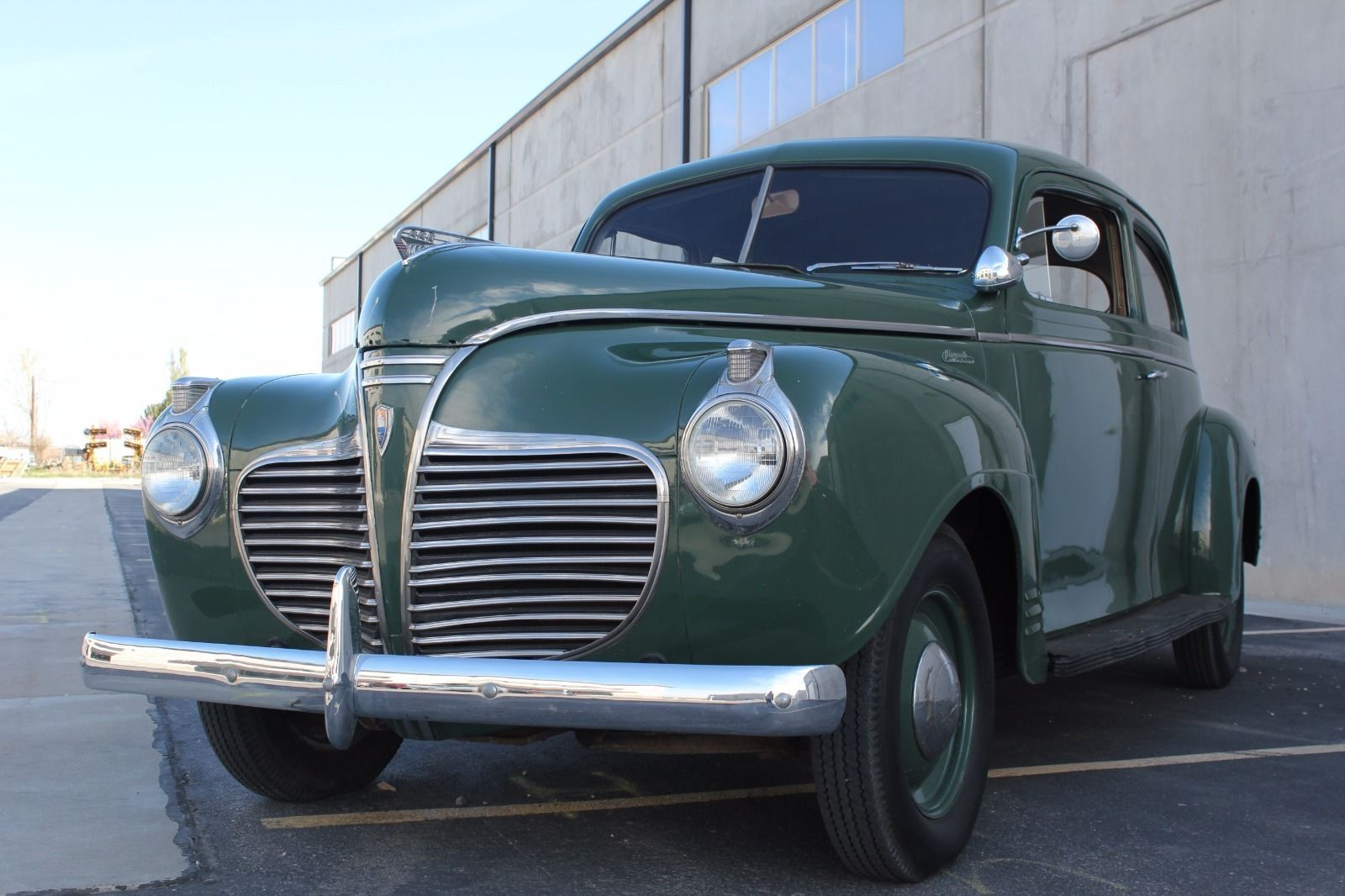 1941 Plymouth Deluxe Business Sedan Coupe Special