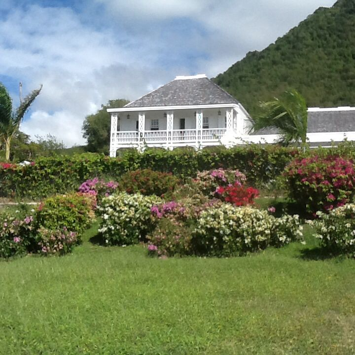 St kitts.fairview great house and botanical gardens .great place to ...