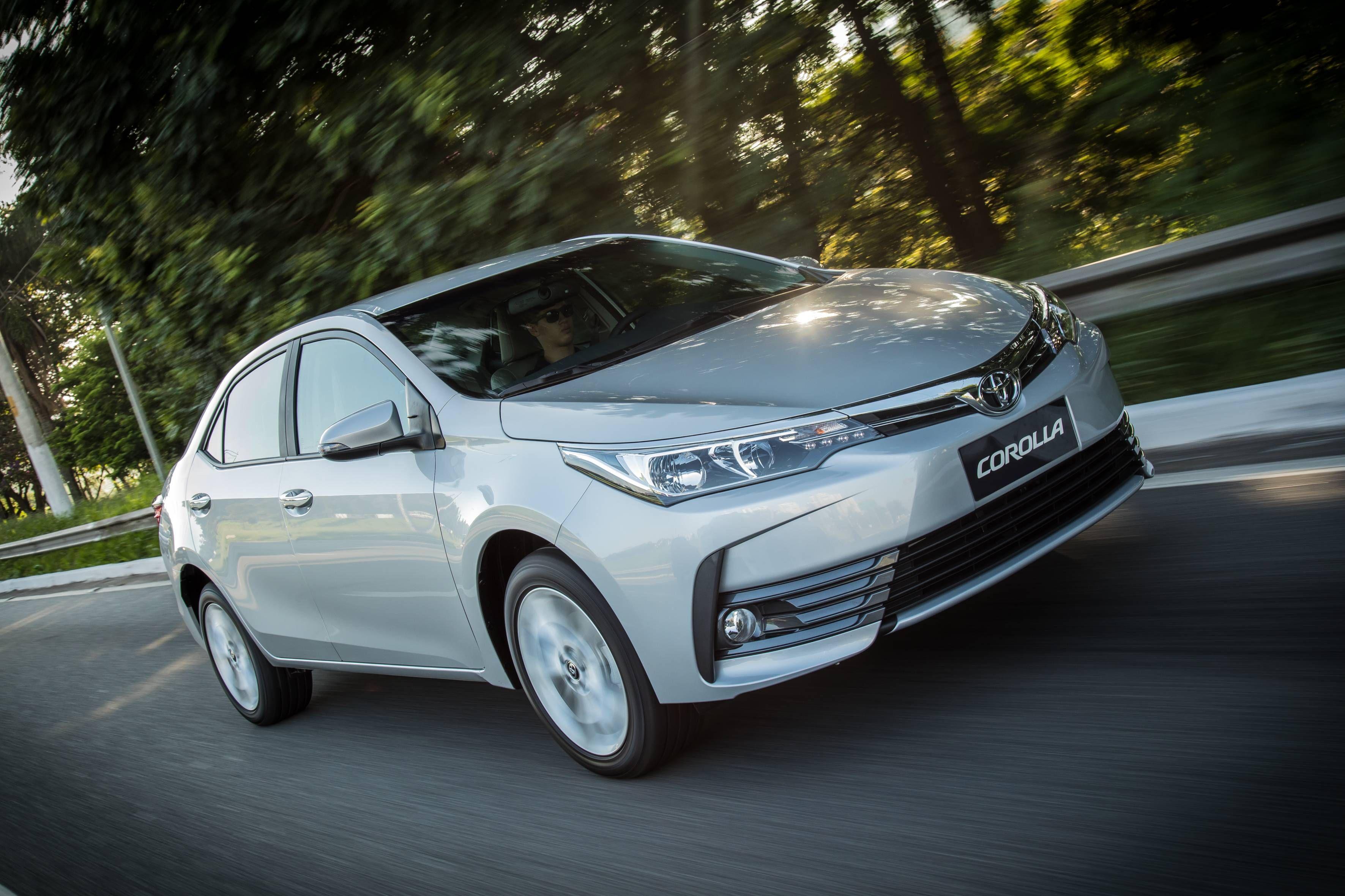 Estes Sao Os Carros Mais Vendidos No Brasil Por Versao Toyota