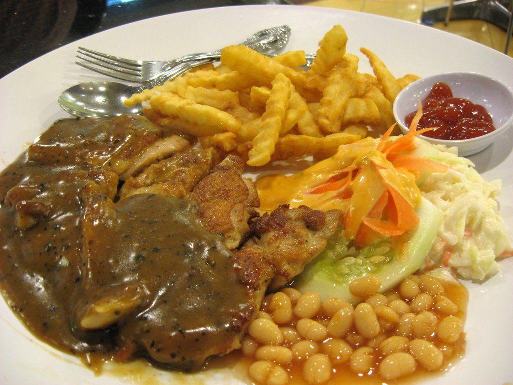 Grill Chicken Chop Mashed Potato Sos Black Pepper Resepi Mudah Dan Ringkas Resep Merica Resep Ayam Resep Masakan Asia