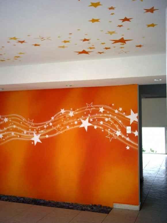 decorar paredes con pintura (6) | Deco ( Vinilos - Papeles - Tapices ...
