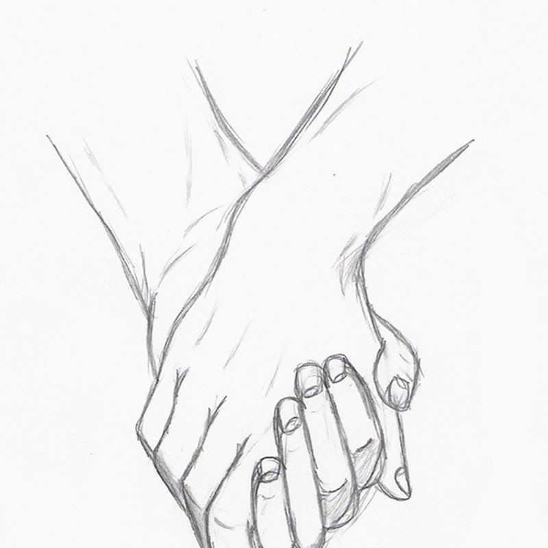 Anime Holding Hands Gif Hd Wallpaper Gallery Sketches Of Love Never Let Me Go Art Drawings Sketches Simple