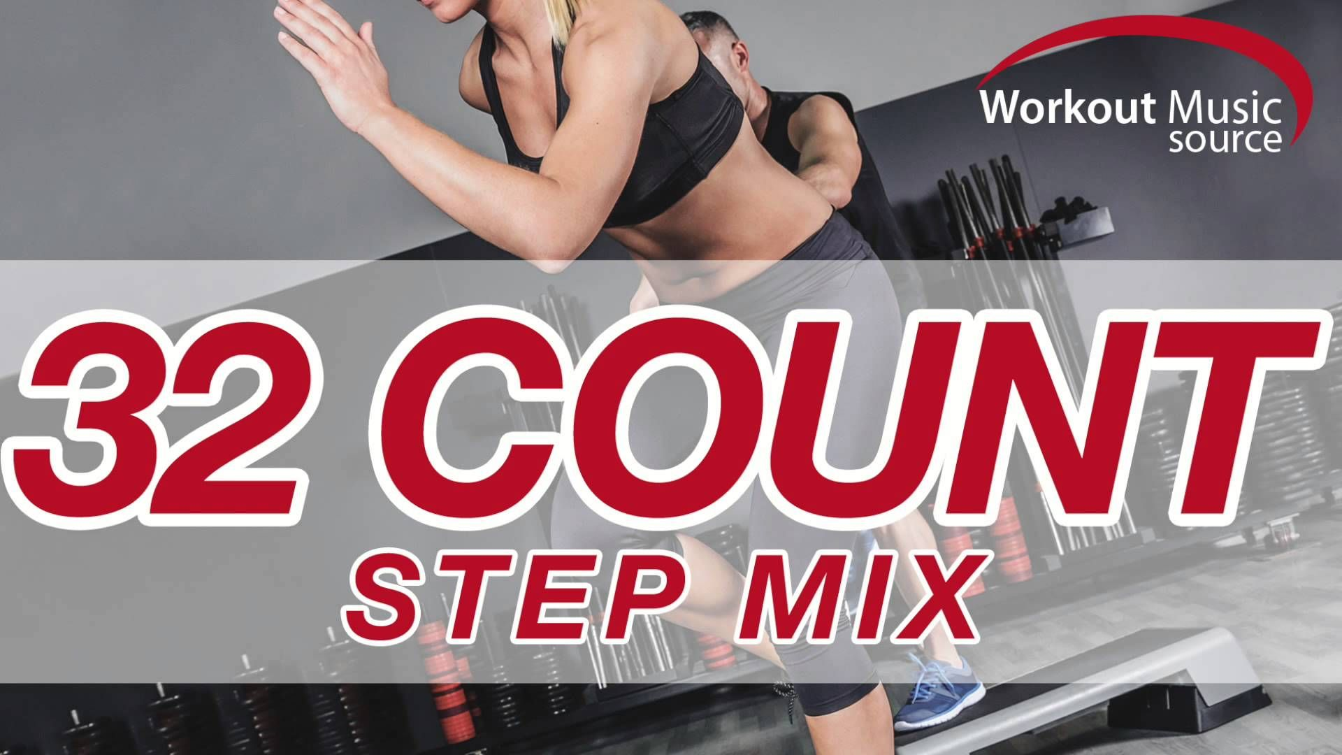 Workout Music Source // 32 Count Step Mix (132 BPM) | Workout Music