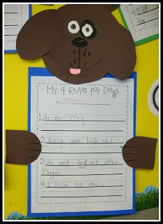 Today In First Grade: Buddy's Day Out writing activity and display