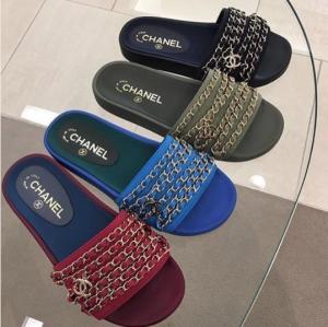 a87181add Chanel Mule Pool Slides 2