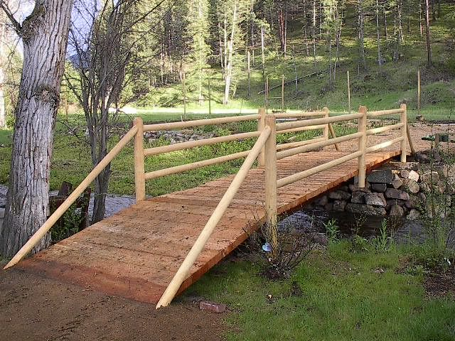 Caution Before Building Bridge S On A Small Stream Your Property Hometalk