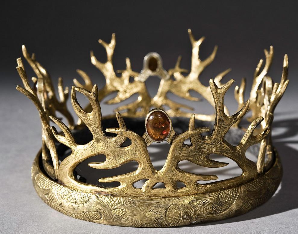 Game Of Thrones Season 2 Crown Jewels Baratheon Crown Joffrey Baratheon