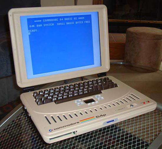 Commodore 64 Laptop Version Commodore Old Computers Computer History