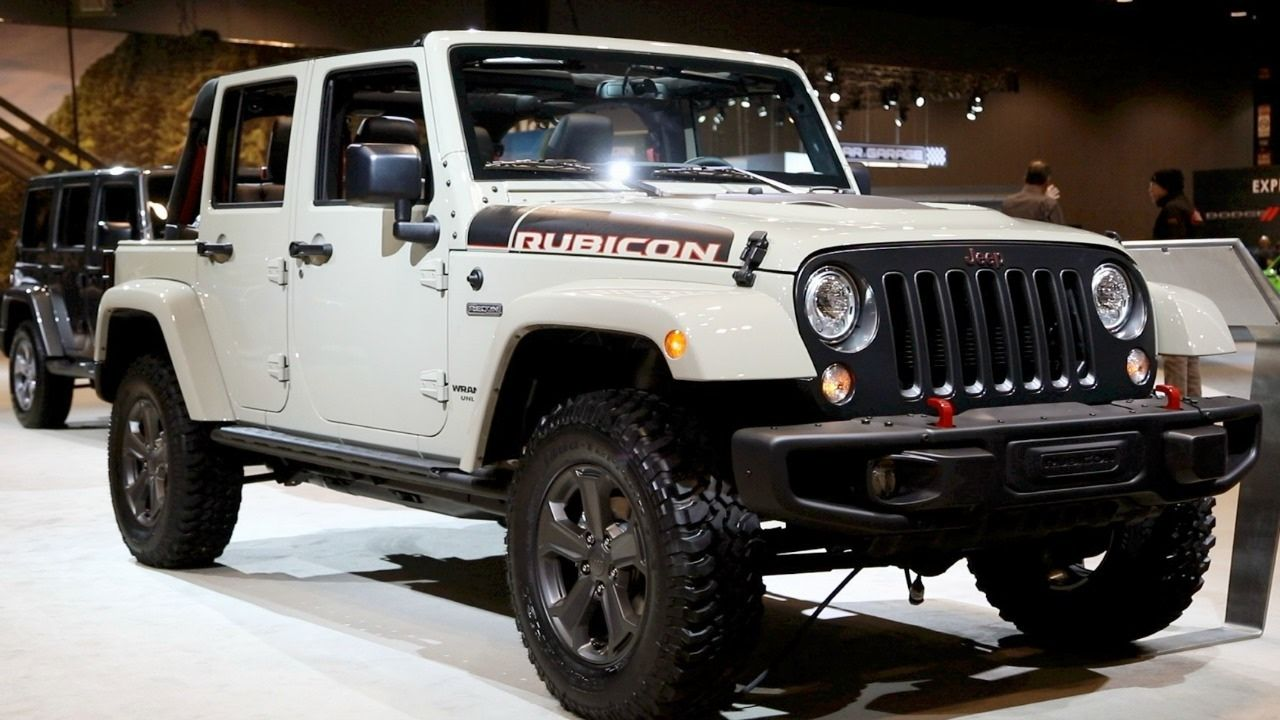 2017 Jeep Wrangler Rubicon Recon Now Present in The UK