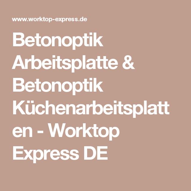 The 25+ best Arbeitsplatte betonoptik ideas on Pinterest ... | {Arbeitsplatte betonoptik 24}
