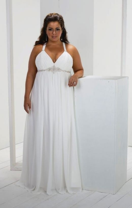 Plus Size Wedding Dresses to Make You Look Like a Queen | Hair ...