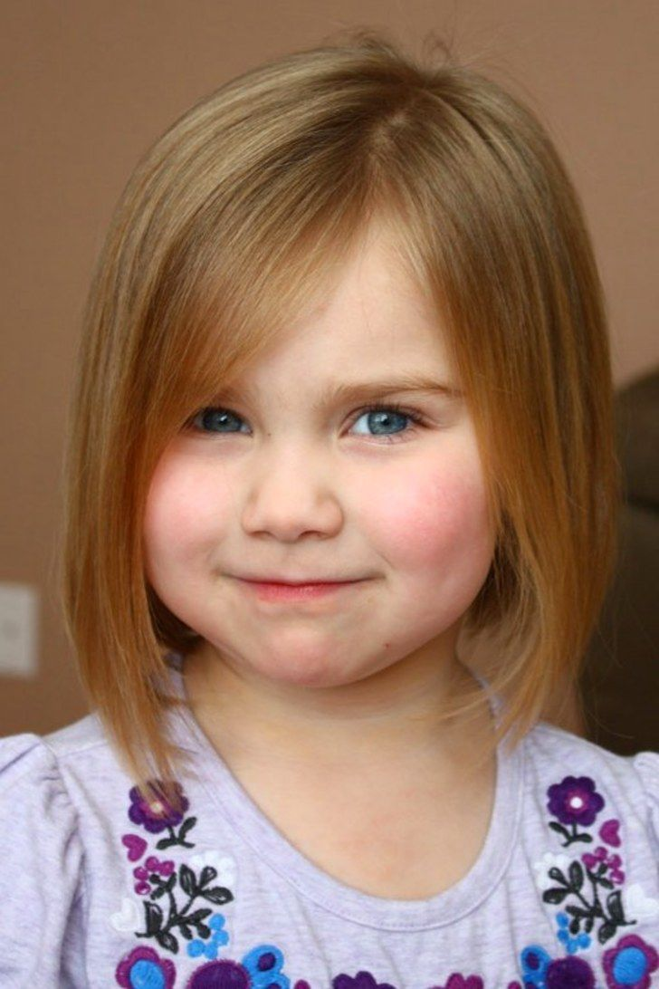 Pretty Little Girls Kids Haircuts Layered Bob Styles | Newborn ...
