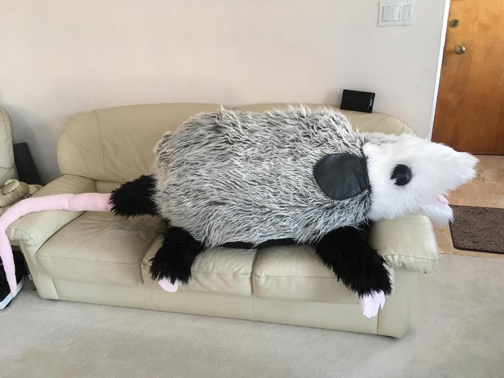 Gigantic N I N E Foot Plush Possum Etsy Possum Plush Awesome