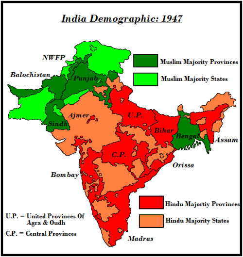 What is the difference between a State and Province within ... India Provinces States Map on map of india provinces, india and its states, india fertility rate by state, central british india provinces,